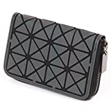 Betrocka Women Short Clutch Luminous Wallet Diamond Lattice Zipper Wallets Designer 3