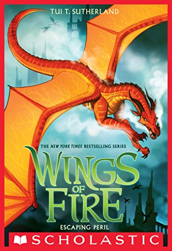 Series Wing - Escaping Peril (Wings of Fire, Book 8)