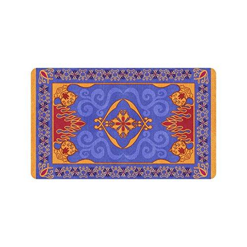 Magic Custom (Artsdd Custom Magic Carpet Blue Pattern Doormat 18