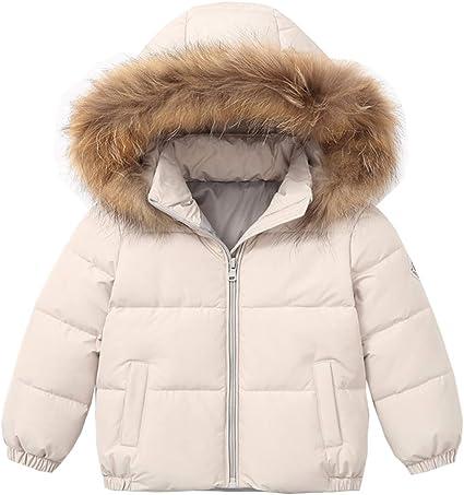 Autumn Winter Warm Down Jackets Girls Coats Boys Kids Hooded Puffer Coat Children