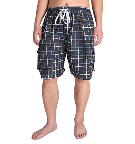 Extended Quick Plaid Trunk Pockets