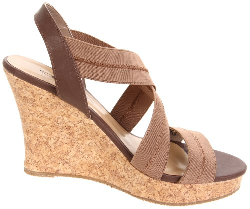 Cl Av Chinese Laundry Womens I Stride Wedge Sandal Taupe