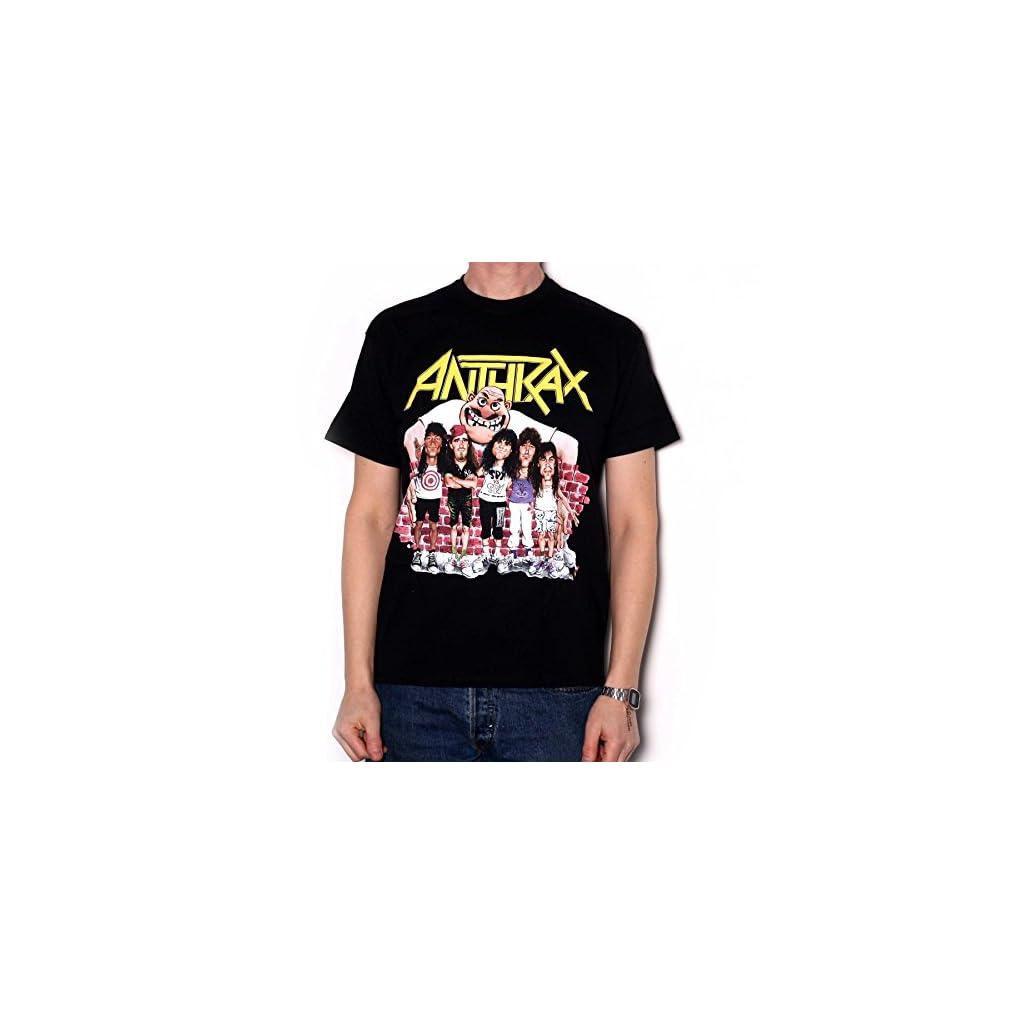 Old Skool Hooligans Anthrax camiseta manga corta