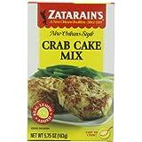 Zatarain's Crab Cake Mix, 5.75 oz (Case of 12)
