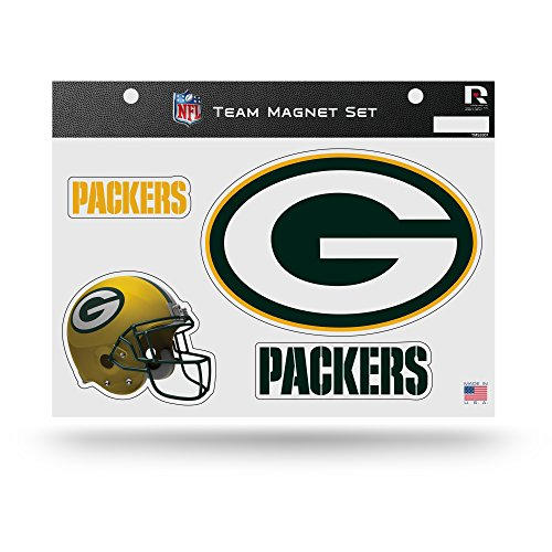 Rico NFL Green Bay Packers NFL Team Magnet Sheet, 11