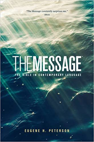The Message Ministry Edition: The Bible in Contemporary Language: Eugene H.  Peterson: 9781600065941: Amazon.com: Books