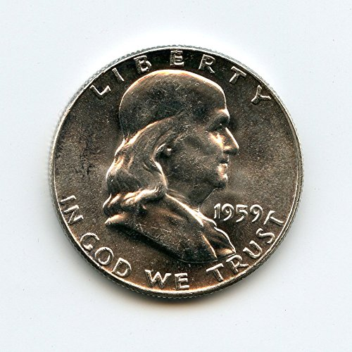 1959 Franklin Half Dollar MS-64