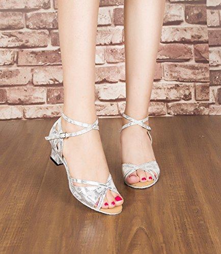 Miyoopark - salón mujer Silver-5cm heel