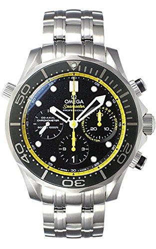(オメガ) OMEGA 腕時計 シーマスター 300 コーアクシャル クロノグラフ 212.30.44.50.01.002 ブラック (ダイアル外周:イエロー) メンズ [並行輸入品] B00QGOKUQS