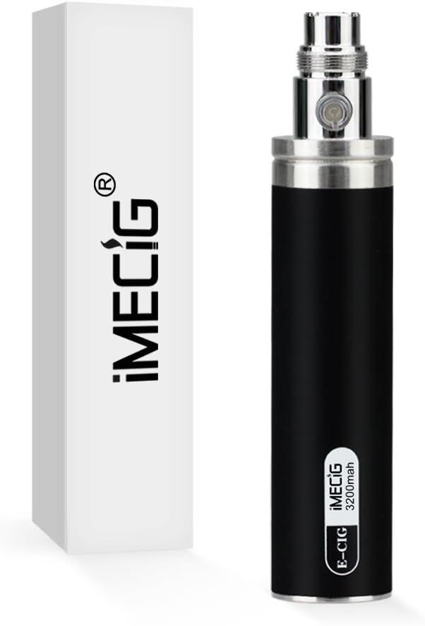 IMECIG® 3200mAh Recargable Batería Cigarrillo Electronico E-Cig Cigarro Electronico Vaporizador E-Shisha EGO EVOD Para CE4 Atomizador Sin Nicotina
