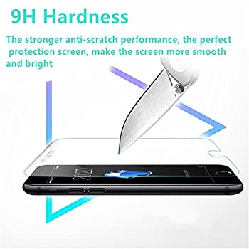 [2-Pack] MIHENCE for DJI Camera Lens Protector Film, 2.5D Rounded Edges 9H Premium Real Tempered Glass Lens Protector for DJI Phantom 4 Pro / 4 Pro Plus / 4 Advanced / 4 Advanced Plus