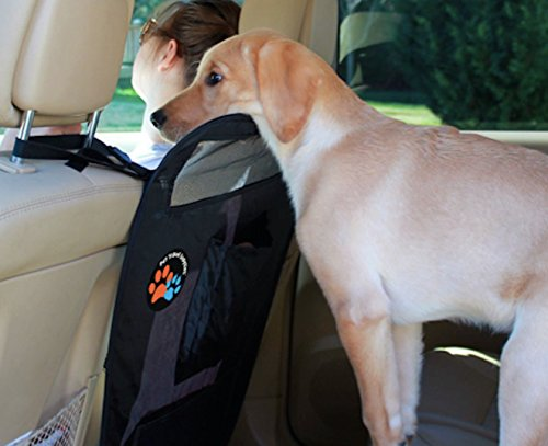 Vehicle Dog Safety Barrier (Car Pet Barrier Backseat Dog Gate for Driver Safety | Durable and Scratch Resistant Travel Accessories for Dogs)
