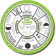 Moon Calendar for Gardeners. Garden in Harmony with Phases of the Moon. Biodynamic Gardening Methods and Old F
