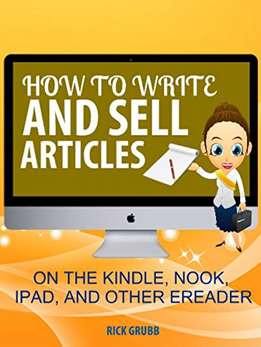 how write sell articles kindle nook ipad other e readers