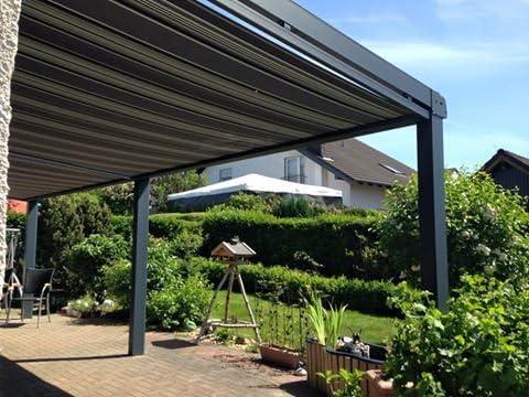 Aluminio Terraza Techo 6060 X 3500 (7016 St): Amazon.es: Jardín