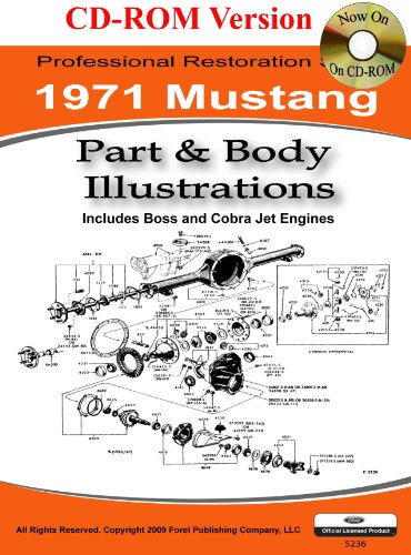 Classic Ford Mustang Parts (1971 Mustang Part and Body Illustrations)