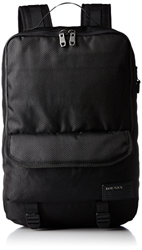 Diesel Men's Ranks F-Close Back Backpack, Black (Diesel Collection)