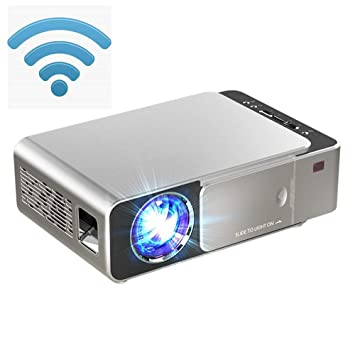 KJRJY Mini proyector LED proyector Full HD 1080P compatibles, 300 ...