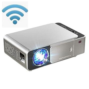 KJRJY Mini proyector LED proyector Full HD 1080P compatibles, 300 ...