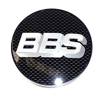 1 x BBS Llanta Tapa Símbolo Scheibe Emblema Carbon plata 56 MM bb0924281 nuevo sin anillo de retención): Amazon.es: Coche y moto