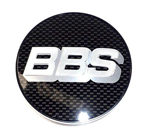 4 x Disque BBS cache-moyeu Icô ne emblè me Carbon Argent 70 mm bb0924467 neuf avec anneau de retenue