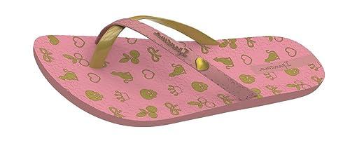 0cd740482623 Ipanema Mix Charm Kids Flip Flops Sandals - Light Pink Gold-Pink-6