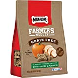 Milk-Bone Farmer'S Medley Grain Free Dog Treats With Turkey & Pumpkin, 12-Ounce Pouch, Pack Of 4