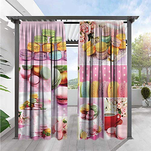 Simple Macaroon (Colorful Simple Curtain Macaroons Napkins Dots Simple Stylish 84