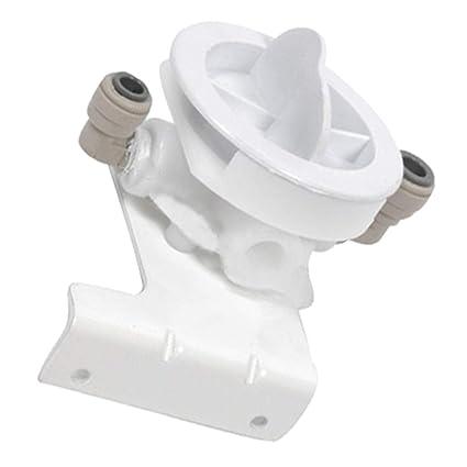 Spares2go - Tapón de filtro dispensador de agua para nevera Beko congelador