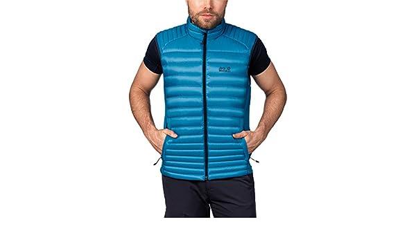 buty na codzień później tanie trampki Jack Wolfskin Men's Atmosphere Flex Vest, Dark Turquoise, X ...