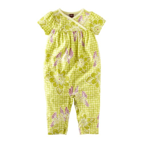Tea Collection Baby-girls Infant Starling Batik Romper
