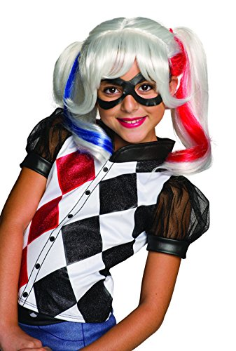Rubie's Costume Girls Harley Quinn Wig and