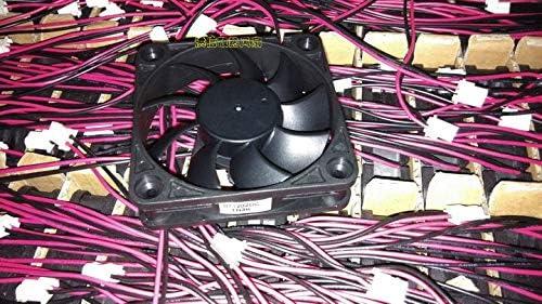 New Y.S.TECH 6015 FD126015LB DC12V 0.14A 2-wire 6CM fan