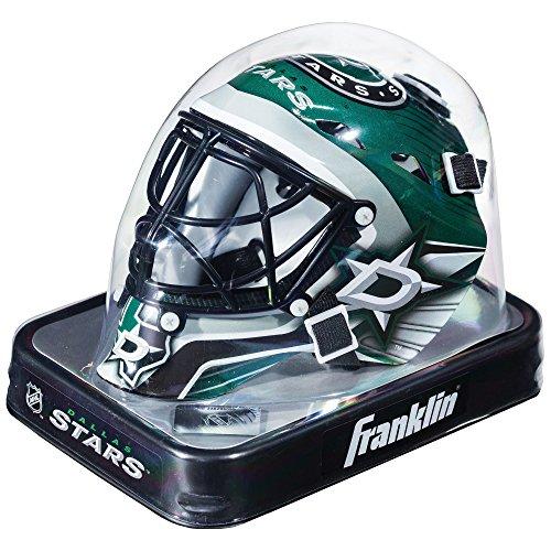 Franklin Sports NHL League Logo Dallas Stars Mini Goalie Mask Dallas Stars Mini Hockey Helmet