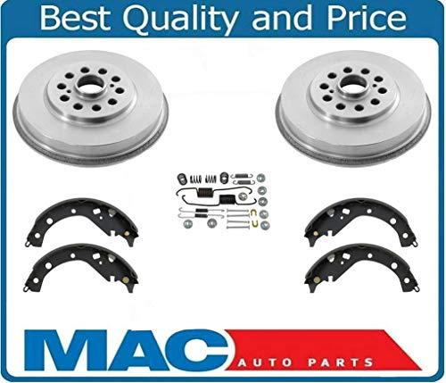 Mac Auto Parts 37384 Vibe & Matrix AWD (2) Rear Brake Drums & Rear Shoes 8 B7 ()