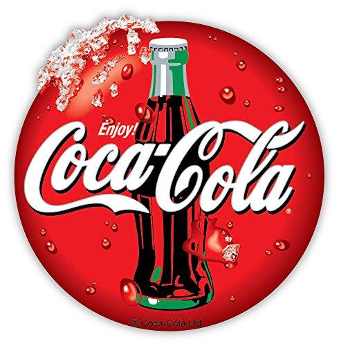 "Coca-Cola Enjoy Coca Cola sticker decal 4"" X 4"""