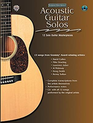 Acoustic Masterclass: Acoustic Guitar Solos, Book & CD Acoustic ...