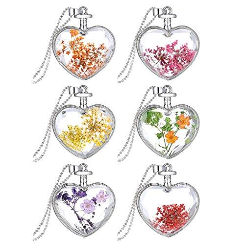 Jiayiqi Fashion Flower Pendant Necklace