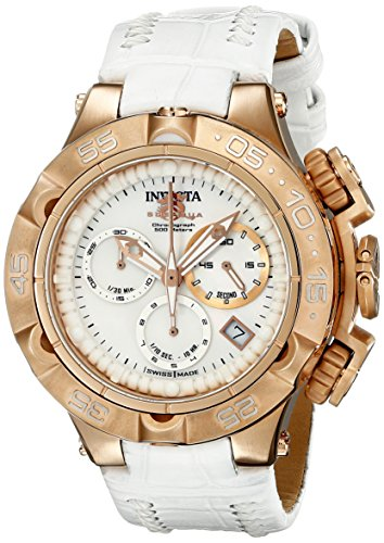 Invicta Women's 17229 Subaqua Analog Display Swiss Quartz White Watch