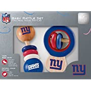 NFL New York Giants Baby Rattle Set - 2 Pack