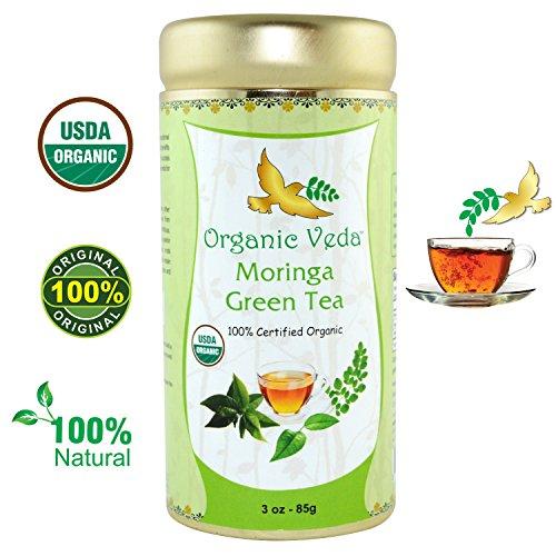 Organic Moringa Green Tea Certified product image