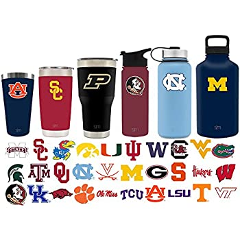 Simple Modern Purdue University 30oz Cruiser Tumbler - Vacuum Insulated Stainless Steel Travel Mug - Boilermakers Tailgating Hydro Cup College Flask