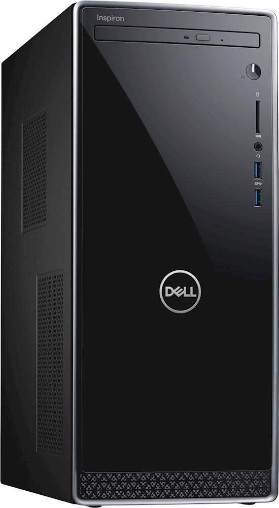 Dell Inspiron 3671 Desktop 9th Gen Intel Core i3-9100 4GB, 1X4GB DDR4 1TB HDD