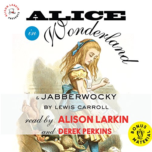 Alice in Wonderland & Jabberwocky by Lewis Carroll: With an Excerpt from The Life and Letters of Lewis Carroll Audiobook [Free Download by Trial] thumbnail