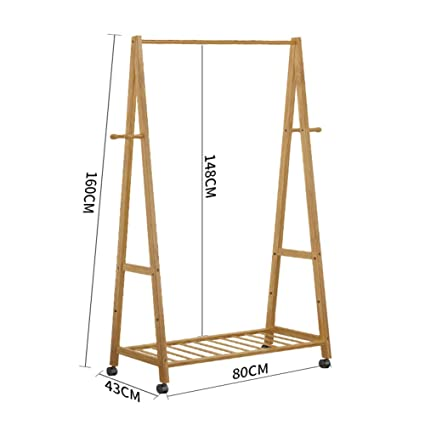 Amazon.com: ZY clothes stand Floor/Coat Rack, Bedroom ...