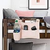 mDesign Bedside Hanging Storage Organizer Caddy