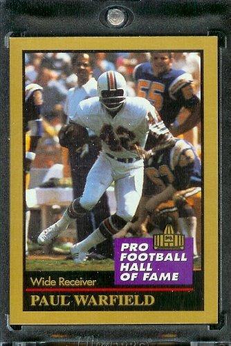 1991 ENOR Football Hall of Fame Football Card #148 Paul Warfield