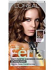 L'Oréal Paris Feria Permanent Hair Color, 51 Brazilian...