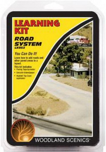 Woodland Scenics Road System Learning Kit