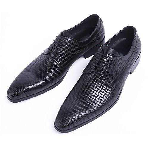 Versione Resistente Banchetto Scarpe Business Europea Black all'Usura Impermeabile Scarpe Sposa da Traspirante Scarpe NIUMT Scarpe Lavoro Stringate da da 4xdgSdq